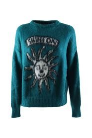 Women's pullover with print