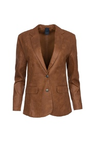 Maica Coated Suede Jacket