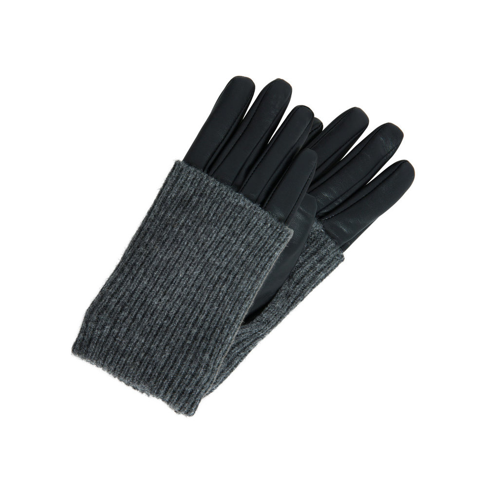Wool/leather Gloves