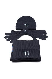 SCARF KIT HAT AND GLOVES TRUSSARDI JEANS