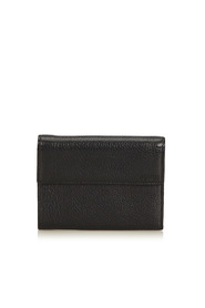 Leather Tri-fold Small Wallet