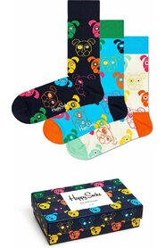 Happy Socks 3-Pack Mixed Dog Socks