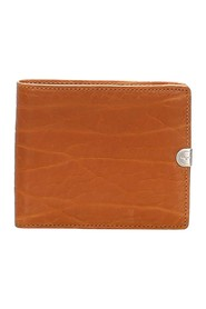 Embossed Leather Small Wallet
