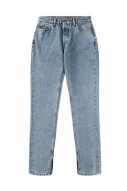 Mid-Waist Slim Jeans