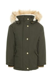 Parka coat padded