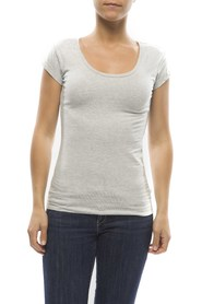 Claesens Ladies T-shirt round neck s/s Grey