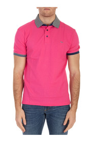 POLO ORLI CONTRAST AND LOGO
