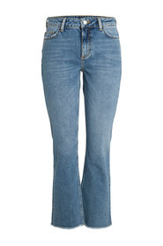 Jeans Mid waist flared