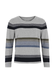 O-Neck Classic Striped Jumper Genser D