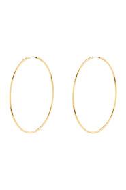 Z Medium Simple Hoop A J Z Earring