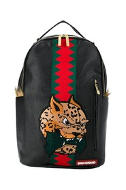 Spucci Leopard Money Backpack