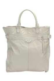 Pre-owned Motocross Classic Hexagon Tote Bag in calfskin