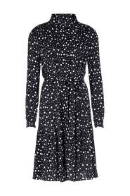 HAILY W20 Bohemian jurk met stippendessin