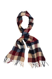 Check?Wool?Scarf
