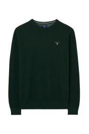 Gant lige sweater, Cotton pique crew