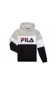 OLENA BLOCKED CREW SWEATSHIRT