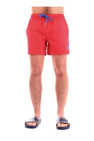 U.S. POLO ASSN. 51809-52161 Swimsuit Men RED