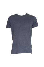 Blå Urban Pioneers Niklas Basic T-skjorte