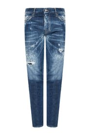 'Slim Jean' distressed jeans