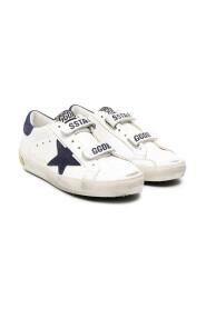 Superstar distressed detail sneakers