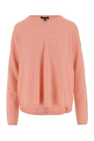 Pullover made of wool and characterized by round neckline