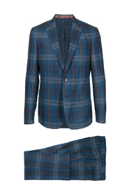 CHECKED SLIM SUIT