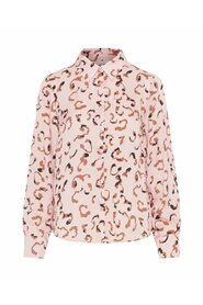 Abstract-print Shirt