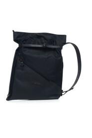 Leather and cordura rucksack