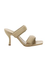 two-strap mules