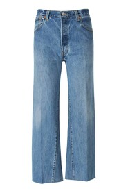 Jeans Cropped Deshilachados