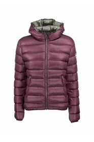 FRIENDLY - Short down jacket with hood
