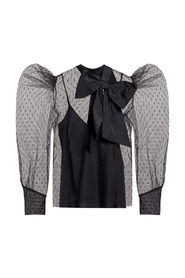 Top with decorative bow