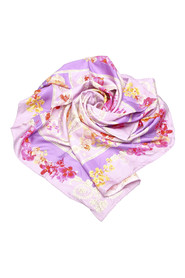 Printed Silk Scarf Fabric