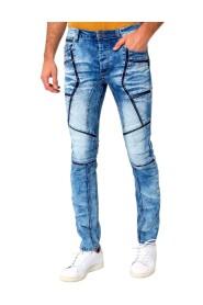 Stoere Biker Jeans Mannen - W6002