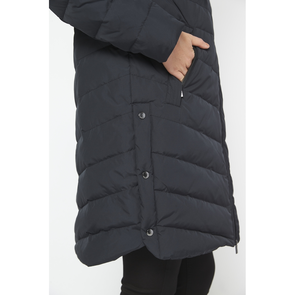 Ilse Jacobsen Hornbæk Black Peppy down jacket Ilse Jacobsen Hornbæk
