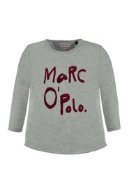 Marc O'Polo Junior - Kids T-shirt LS, Girl - Light Grey Melange