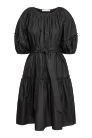Maxi short sleeve kjole