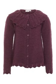 Cardigan knitted wool