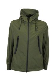 USA men's bomber jacket with military hood