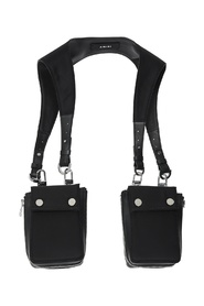 Body harness with pockets