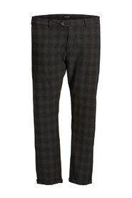 Plus size Chinos Checked
