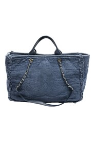 Pre-owned Double Face Shopping Tote