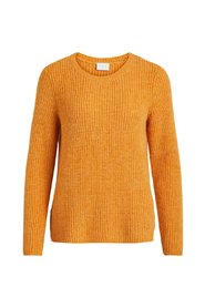 Knitted Pullover O-neck