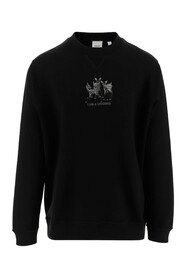 Sweatshirt Embroidery on the front panel