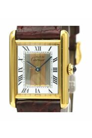 Pre-owned Must Tank Quartz Gold Plated Dress Watch 590005