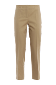 Track cropped trousers