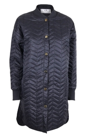 DAY Birger et Mikkelsen - Travel Quilt Jacket Long - Black