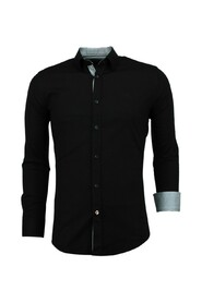 Italiaanse Blanco Blouse  - Slim Fit Overhemden - 3036