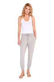 Classic cotton sweat pants with Madaline elastic band