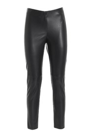 Faux leather leggings trousers